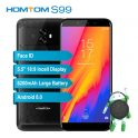 37% OFF HOMTOM S99 Face ID 6200mAh 4G Smartphone 4+64G,limited offer $128.99 from TOMTOP Technology Co., Ltd