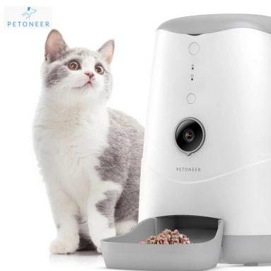 € 99 med kupon til Petoneer Intelligent Visual Feeder Fjernovervågning Voice Interaction for Pet fra BANGGOOD