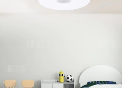 $79 with coupon for Philips LED Ceiling Lamp Dust Resistance App Wireless Dimming  –  STARRY LAMPSHADE  WHITE from GearBest