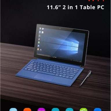 €219 with coupon for Pipo W11 2 in 1 Tablet PC with Keyboard and Stylus Pen from GearBest