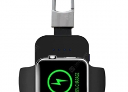 $11 with coupon for Portable Mini Key Chain Fast Wireless Charger for Apple Watch from GEARBEST