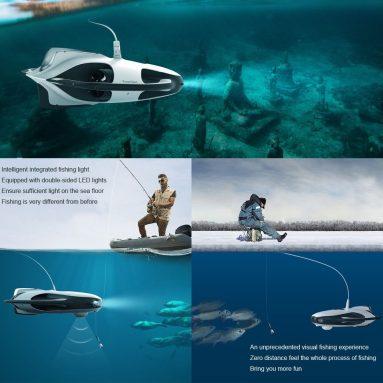 € 1799 với phiếu giảm giá cho PowerVision PowerRay Máy quay cá không người lái dưới nước 1080p Thuật sĩ với tàu ngầm Rc tàu thuyền 4K UHD từ BANGGOOD