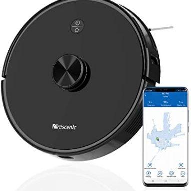 251 € avec coupon pour aspirateur robot Proscenic M7 Pro Navigation laser LDS 2600Pa APP d'aspiration puissante et contrôle multi-mappage Alexa Control EU WAREHOUSE de GEEKBUYING