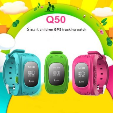 $12 with coupon for Q50 Kids GPS Smartwatch from GEARVITA