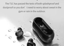 $ 22 với phiếu giảm giá cho Tai nghe không dây Bluetooth 2018 QCY T1 TWS với Tai nghe thể thao micrô kép cho iOS Android từ GEARBEST