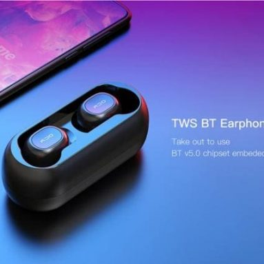 $14 with coupon for QCY T1C Mini Wireless Earphones from GEARVITA