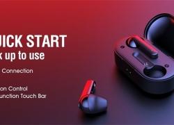 € 23 avec coupon pour QCY T3 TWS Sans fil Bluetooth 5.0 Ecouteurs Stéréo Appel bilatéral de GEARVITA