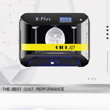 €645 with coupon for QIDI TECH X-PLUS Industrial Grade 3D Printer with 4.3 Inch Color Touchscreen from EU GER warehouse TOMTOP