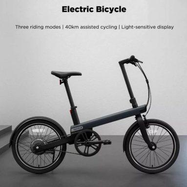 $ 839 với phiếu giảm giá cho xe đạp điện mô tô QiCYCLE TDP02Z từ GEEKBUYING