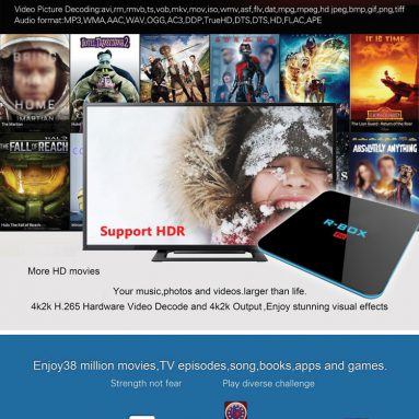 $ 7 off COUPON para sa R-BOX Pro 2G 16G Box mula sa Geekbuying
