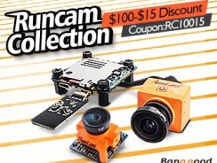 $15 OFF for Runcam Collection from BANGGOOD TECHNOLOGY CO., LIMITED