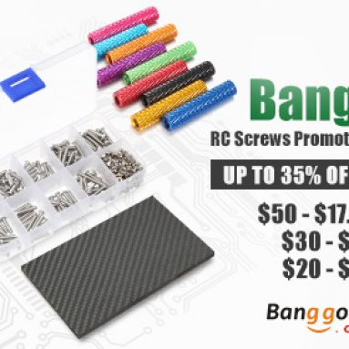 Lên đến 35% OFF cho RC Screws Khuyến mãi từ CÔNG TY TNHH CÔNG NGHỆ BANGGOOD