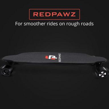 327 € s kupónem pro elektrickou skateboard REDPAWZ RDZ-07 + 2 dárky zdarma (čelenka + chrániče loktů) Sklad EU od GEEKBUYING