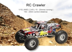 $179 with coupon for RGT RC Car Crawler 1/10 4WD Waterproof Electric Off-road Truck from GearBest