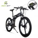 €999 with coupon for RICH BIT TOP-860 12.8AH 36V 250W 26inch Folding Moped Electric Bike 35km/h Top Speed 35-40km/h Mileage Range Cycling Mountain Bicycle EU UK WAREHOUSE from BANGGOOD
