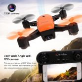 43% OFF IDEA7 720P Wifi FPV GPS Drone,limited offer $79.99 from TOMTOP Technology Co., Ltd