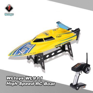 Chỉ $ 26.69 cho WLtoys WL911 2.4G Điều khiển từ xa Tốc độ cao 24km / h RC Boat từ RCMOMENT