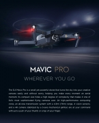$161 discount for DJI Mavic Pro Quadcopter, free shipping $1238.99 (code:TTDJIM) from TOMTOP Technology Co., Ltd