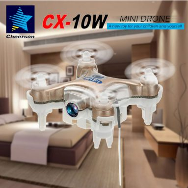 56% OFF Cheerson CX-10W RC Quadcopter from TOMTOP Technology Co., Ltd