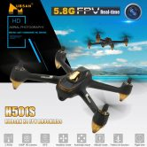 54% OFF Hubsan H501S X4 5.8G FPV 1080P GPS Drone,limited offer $155 from TOMTOP Technology Co., Ltd