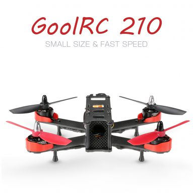 21% OFF + Extra $30 OFF GoolRC 210 Carbon Fiber RTF Racing Drone RC Quadcopter from TOMTOP Technology Co., Ltd