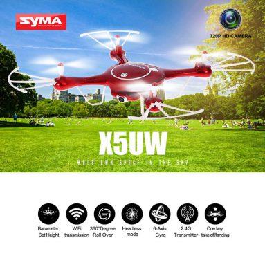 $ 30 OFF Syma X5UW Quadcopter Presale từ TOMTOP Technology Co., Ltd