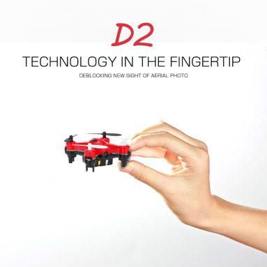 23% OFF + Extra € 5 TẮT DHD D2 RC Quadcopter w / EU Miễn Phí Vận Chuyển từ TOMTOP Technology Co., Ltd