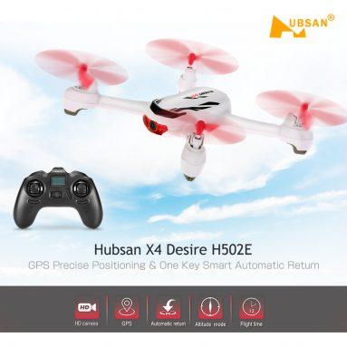 37%OFF Hubsan X4デザイナーH502E RCクアドコプターTOMTOP Technology Co.、Ltd