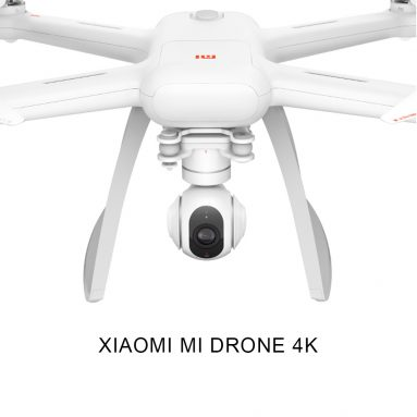 $126 Off XIAOMI Mi Drone 4K WiFi FPV RC Quadcopter,free shipping $459.99(Code:TTRM6355) from TOMTOP Technology Co., Ltd
