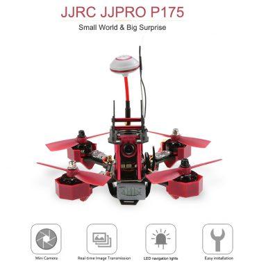 "51% OFF JJRC JJPRO - P175 5.8G FPV מירוץ מזל""ט RTF מ TOMTOP טכנולוגיה ושות 'בע""מ"