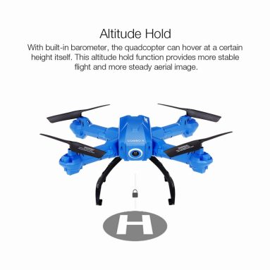 Only $55.99 For Original JJR/C H38WH Wifi FPV 720P HD 120° Wide Angle Camera Drone with code EJ7783 from RCMOMENT