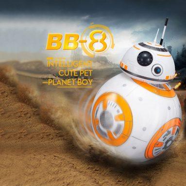$ 7 OFF BB-8 2.4GHz Robot Ball Planet, miễn phí vận chuyển $ 19.99 (Mã: TTBB8) từ TOMTOP Technology Co., Ltd