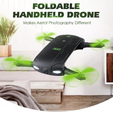 Only $18.6 For DHD D5 Wifi FPV 480P Camera Foldable Selfie Drone from RCMOMENT