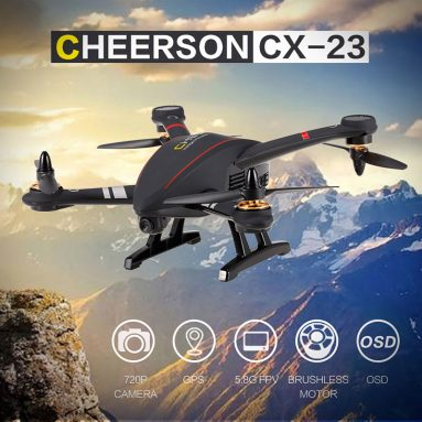 Only $189.99 For CHEERSON CX-23 5.8G FPV 2.0MP Camera GPS Brushless Quadcopter Drone with code EJ8289 from RCMOMENT