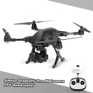 Only $379.99 For SIMTOO Dragonfly 16MP Camera 4K Brushless Wifi FPV Quadcopter from RCMOMENT