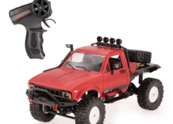 Скидка 5$ на WPL C14 1/16 2.4GHz 4WD RC Crawler Off-road Semi-truck Car! from Tomtop INT