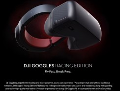 $40 OFF DJI VR Goggles Dual 1080P HD Racing Edition Verson,free shipping $609(Code:DJIRACE) from TOMTOP Technology Co., Ltd