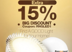 15% OFF LED Lighting Bulb from BANGGOOD TECHNOLOGY CO., LIMITED