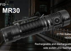 $39 with coupon for ROFIS MR30 Hard Light LED Flashlight CREE XHP 35 HI Lamp Bead from Gearbest