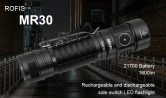 $ 39 z kuponem na latarkę LED ROFIS MR30 Hard Light CREE XHP 35 HI Lampkę koralową od Gearbest
