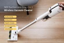 € 327 met coupon voor ROIDMI NEX Handheld draadloze stofzuiger (Xiaomi Ecosystem Product) - Wit EU CZ MAGAZIJN van BANGGOOD