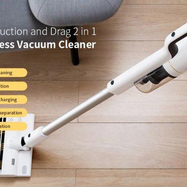 € 270 dengan kupon untuk ROIDMI NEX Smart Handheld Cordless Vacuum Cleaner dengan Kontrol Aplikasi Mengepel dan Cerdas dari XIAOMI Youpin dari CZ Warehouses BANGGOOD