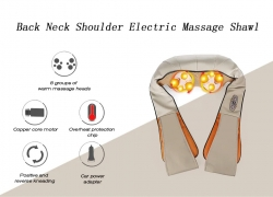 $28 with coupon for RT – 102 Back Neck Shoulder Electric Massage Shawl from Gearbest