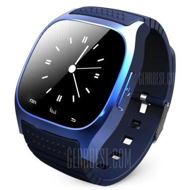 $ 8 với phiếu giảm giá cho Đồng hồ thông minh Bluetooth LED RWATCH M26 - BLUE từ GearBest