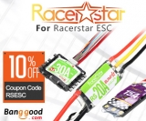 Extra 10% OFF RC Toys & Hobbies Racerstar ESCs from BANGGOOD TECHNOLOGY CO., LIMITED
