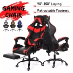 €69 with coupon for Ergonomic High Back Racing Chair Reclining Office Chair Adjustable Height Rotating Lift Chair PU Leather Gaming Chair Laptop Desk Chair with Footrest EU UK warehouse from BANGGOOD