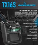 215 € mit Gutschein für RadioMaster TX16S Hallsensor-Kardanringe Multiprotokoll-RF-System OpenTX-Sender mit TBS Crossfire Micro TX V2-Modul und Empfänger-Combo-Set - Modus 2 (linke Drossel) von BANGGOOD