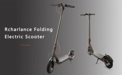 $ 299 med kupong for Rcharlance S8 5.2Ah Folding Electric Scooter (EU) - SVART EU-lager fra GearBest