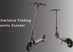 $299 with coupon for Rcharlance S8 5.2Ah Folding Electric Scooter ( EU ) – BLACK EU warehouse from GearBest