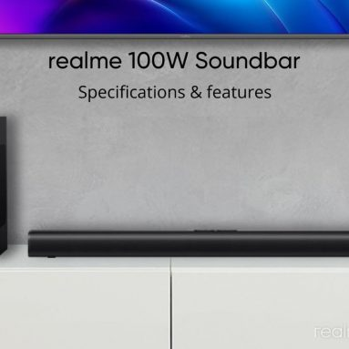 € 132 dengan kupon untuk Realme 100W bluetooth Soundbar Home Theater 2.1 Channel 60W Speaker Full-range 40W Bass Subwoofer Audio Soundbar dari BANGGOOD